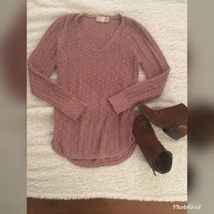 Pink Republic Sweater with Side Details